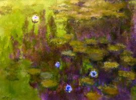 Monets Water Lillies 2012 Mud by diamonddiva2306
