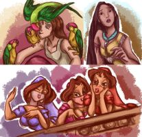 Disney Girls 2 by Nine-Tailed-Fox
