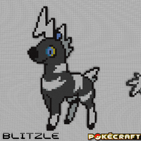 Pokecraft Blitzle by PkmnMc