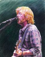 Trey Anastasio of Phish II by reesmeister