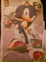 SONIC IN THE NEWS by LexyHedgehog