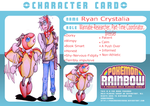 PokemonRainbow Card: Ryan Crystalia by KitsPokePeople