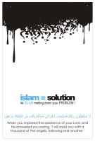 Islam,solution to all problems by alijadoon