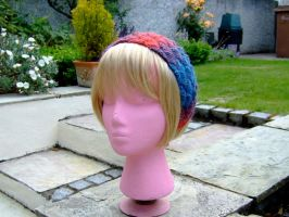 Entrelac Hairband 2 by knerdy-knits