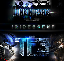 LINKEN PARK IRIDESCENT by iamZADDI