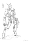 (2013-05-17) Android #drawforme by PronouncedKnee