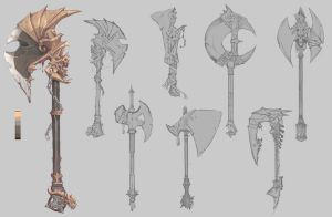 Axes concept by Coffeeater