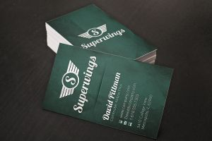 Wings Business Cards by xstortionist