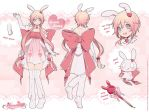 Hearte Bunny Reference Sheet by Kaze-Hime