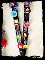 MCR pins by rayraylovesmikeyway