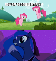 Double the fun? (spoiler) by Wub-Me