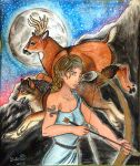 Lady of the Beasts - CE by Karai0318
