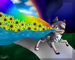 The world is my canvas by Skystar-Warrior