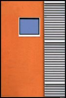 orange wall II by LeadToDeath