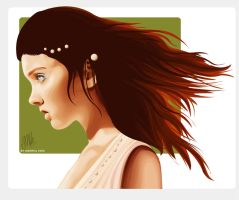 Lily Cole by pure-andrea