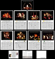 Pagan Calender 2014 by El-Sharra