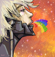 Rainbow Raiden by Niuniente