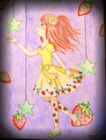 Stars and Strawberries by EmpressBlackWings