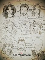 Slender Man: The 8 Pages Characters by Kiki4rich