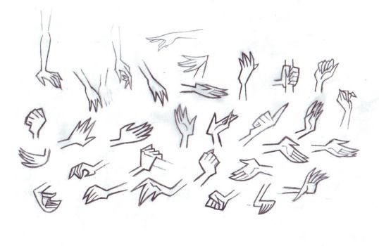 DP Female Hand Study by SFToon