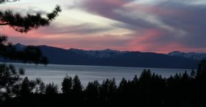 Tahoe Sunset by The-Assistant