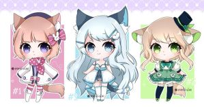 Adoptables 53 Auction! [Closed] by Shiina-Yuki