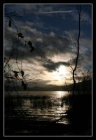 the lake I - night or day by JacquesPhotography