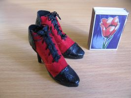 Shoes doll Grell Sutcliffe scale by zefforian