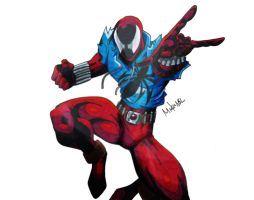 Scarlet Spider by MikeES