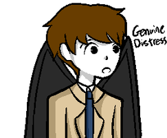 Supernatural Talksprite - [Genuine distress] by HollyTheEpicKitten