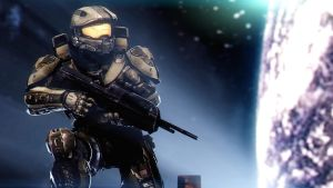 Master Chief by AngryRabbitGmoD