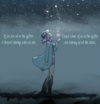 Looking up at the stars. by SkyDrew