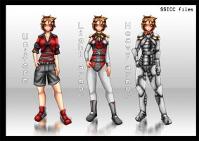 SSICC armors by Number-Seventeen