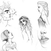 A few sketches by palnk
