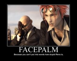 Rude and Reno Facepalm by Gambleswithfate24
