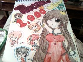 Thanks for 1,000 Page Views by kitty-chan2