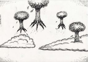 FLYING TREES by KaissE
