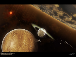 Uncharted Worlds by arisechicken117