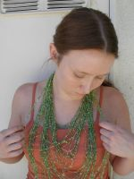 green necklace 1 by PhoeebStock