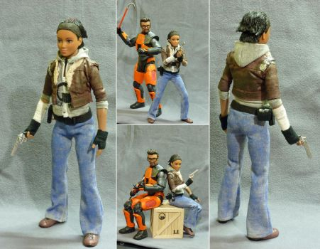1/6 scale Alyx Vance figure by botmaster2005