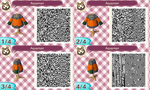 Animal Crossing New Leaf QR: Aquaman by ShinigamiKant
