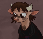 'tis a cow by SevenPaperPlates