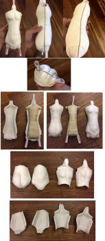 Making My 1st Ball Jointed Doll Part 3 by ajldesign