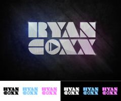 DJ Ryan Coxx logotype by Stephen-Coelho