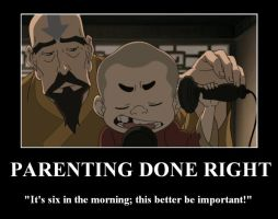 Tenzin Knows How to Parent by mini-and-rina
