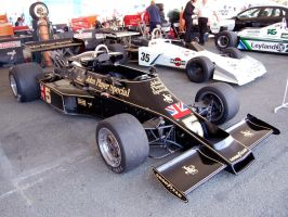 John Player Special F1 racecar by Partywave