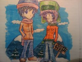 South Park pen doodle by The--Summoner