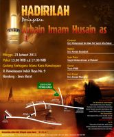 Pamflet Arbain Imam Husain as by zan-zany