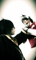 The Lost Canvas  Hades VS Tenma BY The SC Cosplay by theSCcosplay