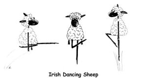 Irish Step Sheep - I by SzandorDuBois